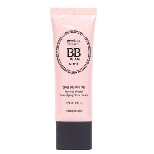 Etude House BB крем Moist Precious Mineral, SPF 50, 45 мл, оттенок: vanilla