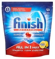 Finish All in 1 таблетки (лимон) для посудомоечной машины 38 шт.