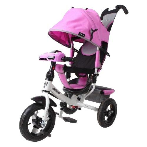 Купить Трехколесный велосипед Moby Kids Comfort 12x10 AIR Car 2 лиловый, Трехколесные велосипеды
