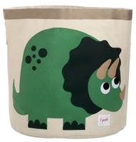 Корзина 3 Sprouts Динозавр 43х45 см (SPR212) зеленый