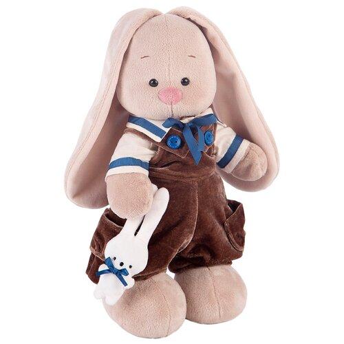 Купить Мягкая игрушка Зайка Ми Бархатный шоколад 32 см, Мягкие игрушки
