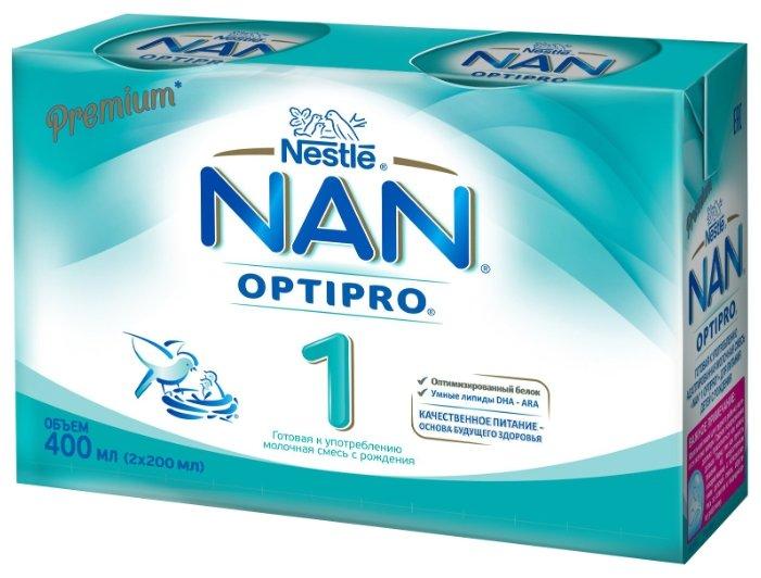 Смесь NAN (Nestlé) 1 готовая к употреблению, с рождения