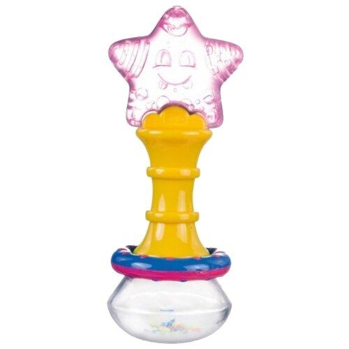 Купить Прорезыватель-погремушка Canpol Babies Волшебная палочка 2/228 желтый, Погремушки и прорезыватели