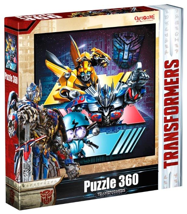 Пазл Origami Transformers (03289), 360 дет.