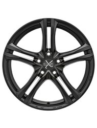 Колесный диск OZ Racing X5B 7.5/17 5*120 ET47 DIA79 Matt Graphite Diamond Cut - фото 1