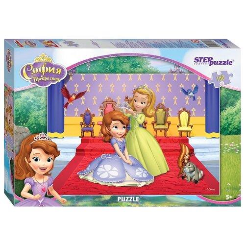 Пазл Step puzzle Disney Принцесса София (94044), 160 дет. детский музыкальный инструмент disney микрофон софия прекрасная принцесса 2698575