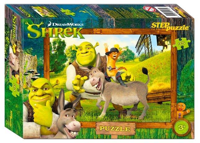 Пазл Step puzzle DreamWorks Shrek (91135), 35 дет.