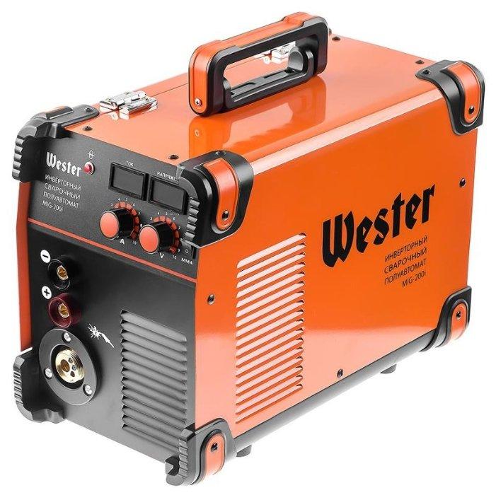 Сварочный аппарат Wester MIG-200i (MIG/MAG, MMA)