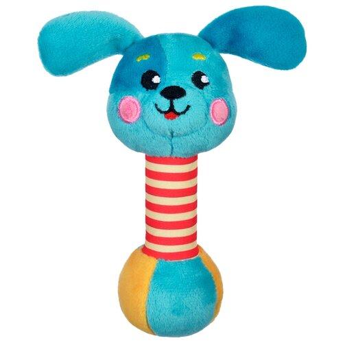 Купить Погремушка Жирафики Щенок 939512 голубой, Погремушки и прорезыватели