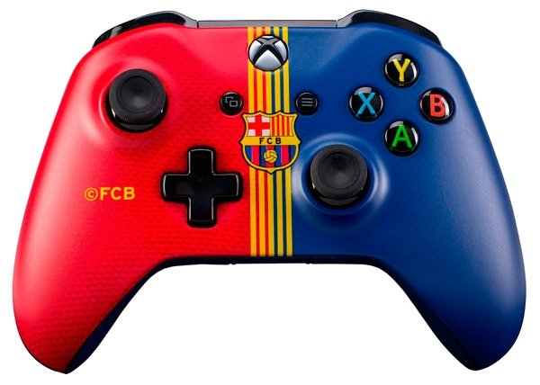 Microsoft Xbox One Wireless Controller FC Barcelona