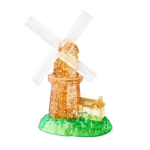 3D-пазл Crystal Puzzle Мельница (91010) 64 дет..