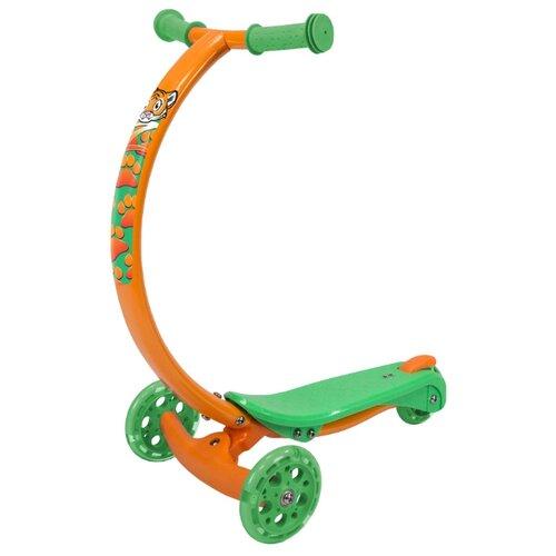 Кикборд Zycom Zipster зеленый/оранжевый