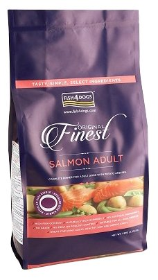 Корм для собак Fish4Dogs Finest Salmon Adult - Regular Bite