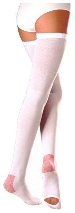 Чулки компрессионные 23-32 мм (2класс компрессии), закрытый носок, бронза, р.6