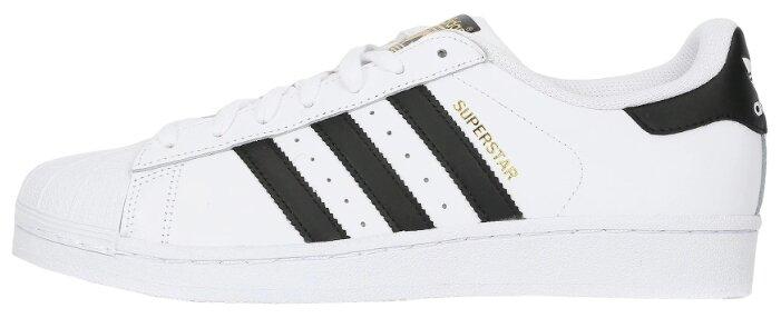 Кроссовки Кроссовки Adidas Superstar White Black C77153 арт 5011-2 (42 EUR 26,5 см / белый)