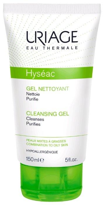 Uriage гель очищающий Hyseac