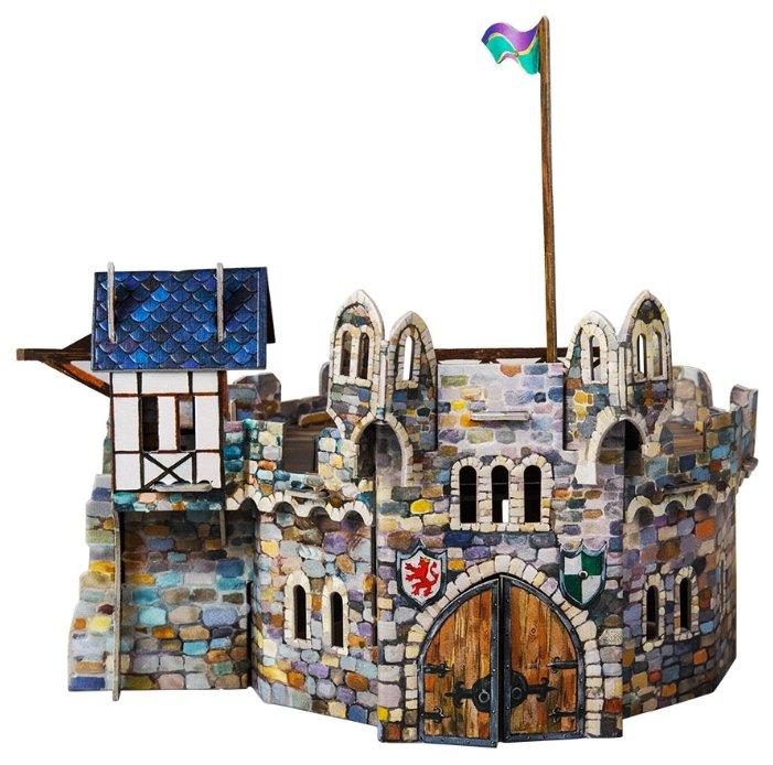Сборная модель Умная Бумага Круглая башня (220),,