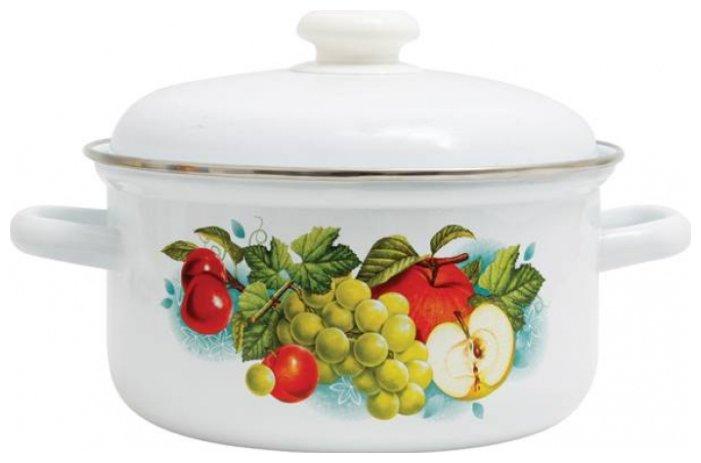 Кастрюля Лысьвенский завод эмалированной посуды С-1512АП2/4 3 л