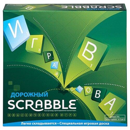 Купить Настольная игра Mattel Scrabble Дорожный CJT18, Настольные игры