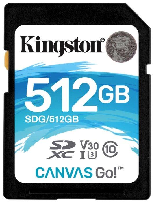Карта памяти Kingston SDG/512GB
