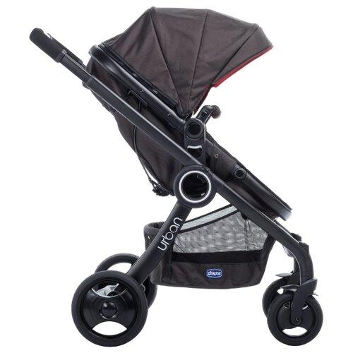 Коляска-трансформер Chicco Urban Plus Crossover черный коляски трансформеры chicco urban plus crossover