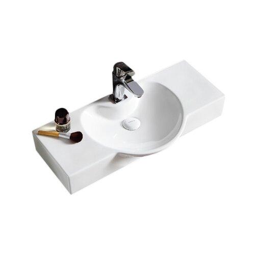 Раковина-столешница 70 см GID-ceramic Str4280c