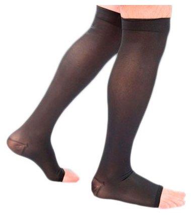 Гольфы мужские с открытым носком, 2 класс плотные, Ergoforma 322, размер: 4