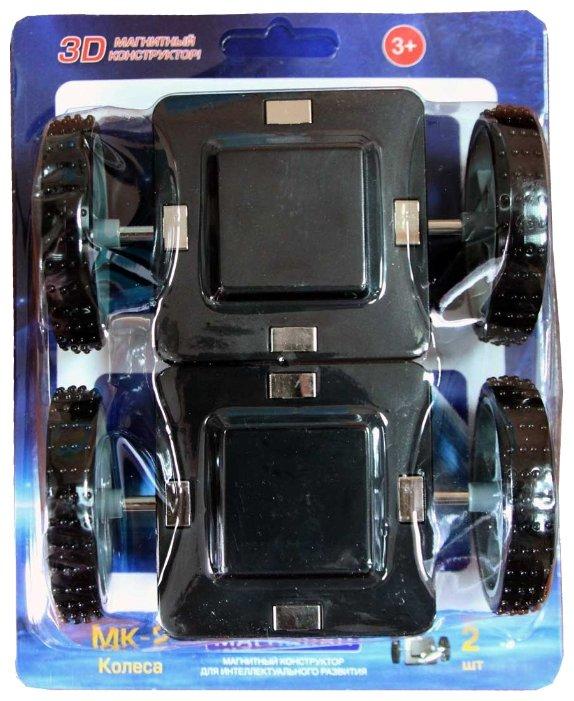 Магнитный конструктор Магникон Набор элементов МК-2-К2 Колеса
