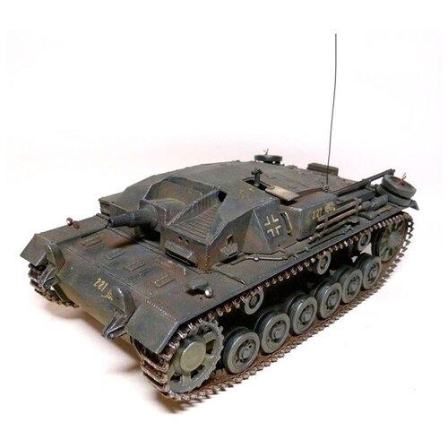 Купить Сборная модель ZVEZDA Немецкое штурмовое орудие Штурмгешутц III (StuG III Ausf.F) (3549) 1:35, Сборные модели