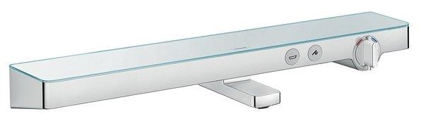 Смеситель для ванны с душем hansgrohe ShowerTabletSelect 700 13183000 однорычажный с термостатом двухцветный