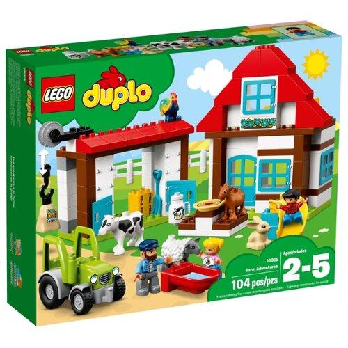Конструктор LEGO Duplo 10869 День на фермеКонструкторы<br>