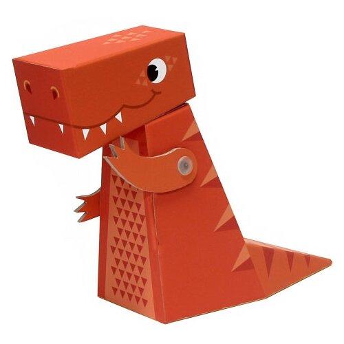 3D-пазл Krooom Тираннозавр (k-470), 3 дет. krooom игрушки из картона 3d пазл монстры k 701