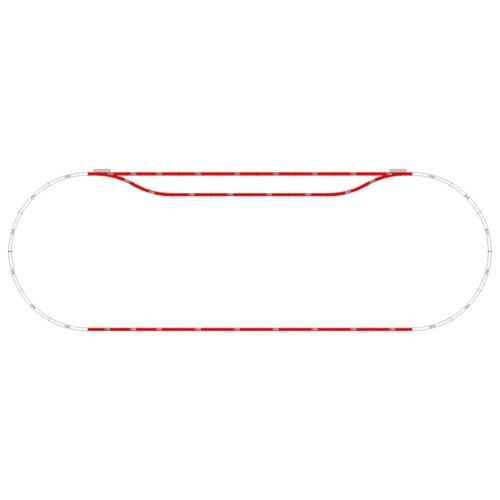 Mehano Набор рельс №10 F110 набор рельс 1