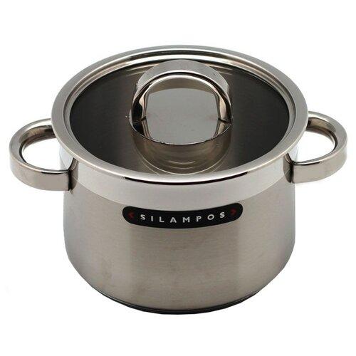 Кастрюля Silampos Atlantico 2,2 л, серебристый
