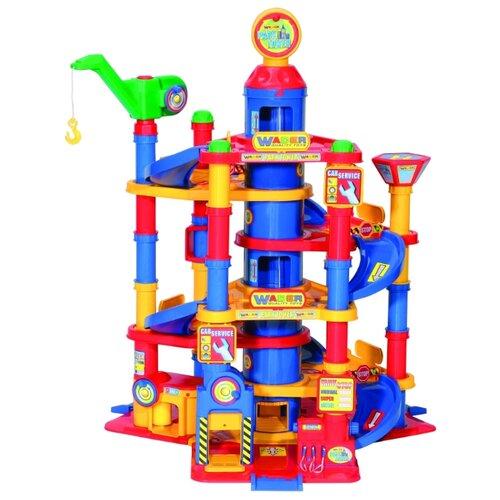 Купить Wader Паркинг 37848 в ассортименте, Детские парковки и гаражи