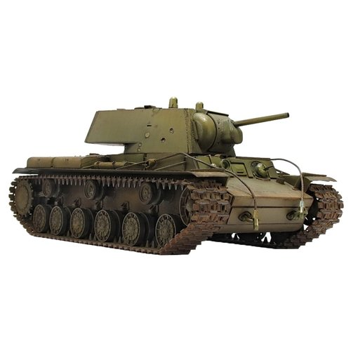 Сборная модель ZVEZDA Советский тяжелый танк КВ-1 (3539PN) 1:35 сборная модель звезда zvezda советский тяжелый танк т 35 5061
