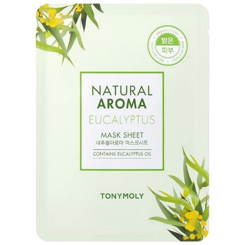 TONY MOLY тканевая маска Natural Aroma Eucalyptus для сияния кожи, 21 гМаски<br>
