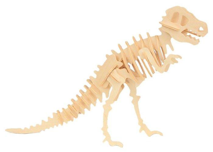 Сборная модель Мир деревянных игрушек Тиранозавр (Ж014),,