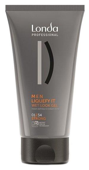 Londa Professional Men гель-блеск с эффектом мокрых волос Liquefy It