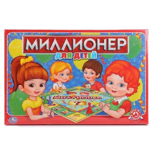 Купить Настольная игра Умка Миллионер для детей, Настольные игры