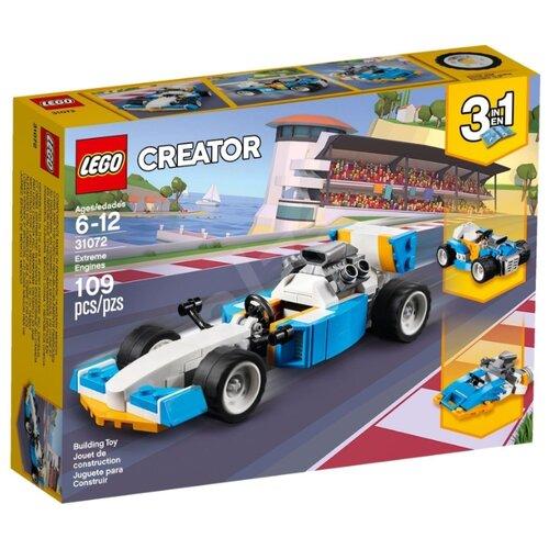 Конструктор LEGO Creator 31072 Экстремальные гонкиКонструкторы<br>