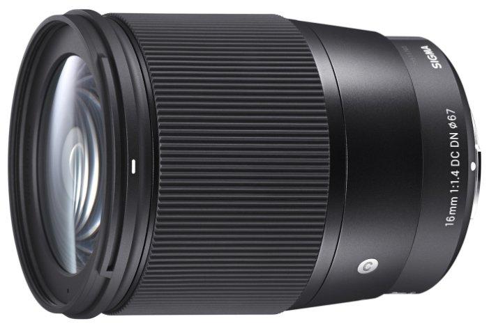 Sigma Объектив Sigma AF 16mm f/1.4 DC DN Contemporary Sony E
