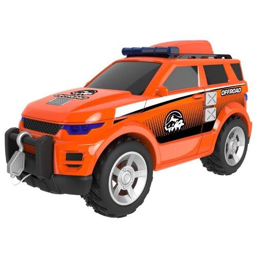 Внедорожник Teamsterz 4х4 (1416398) оранжевый, Машинки и техника  - купить со скидкой
