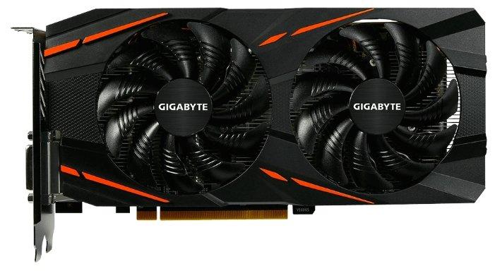 GIGABYTE Видеокарта GIGABYTE Radeon RX 570 1244MHz PCI-E 3.0 4096MB 7000MHz 256 bit DVI HDMI HDCP Gaming