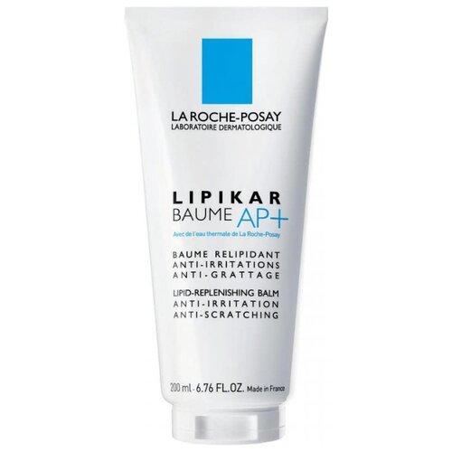 Бальзам для тела La Roche-Posay липидовосстанавливающий с противозудным действием Lipikar Baume AP+, 200 мл la roche posay бальзам lipikar baume ap m липикар 200 мл