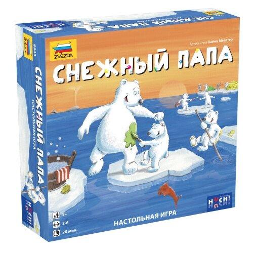 Настольная игра ZVEZDA Снежный папа