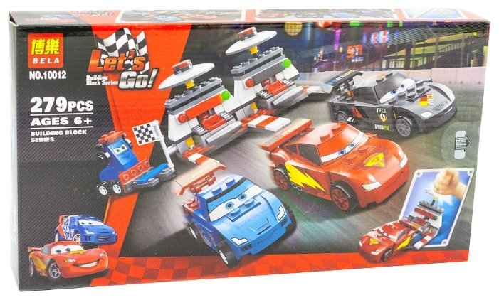 Конструктор BELA (Lari) Cars 10012 Крутой гоночный набор