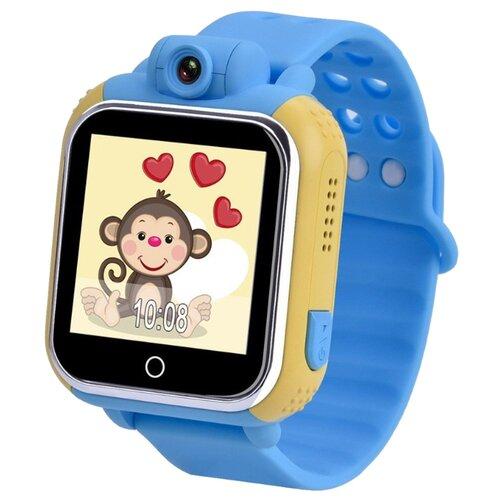 Фото - Детские умные часы Smart Baby Watch GW1000 голубой часы smart baby watch ew200