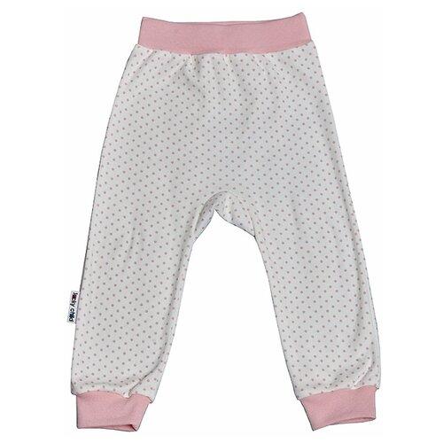 Купить Брюки lucky child размер 26 (80-86), молочный, Брюки и шорты