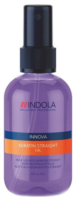 Indola Innova Keratin Straight Масло для волос Кератиновое выпрямление